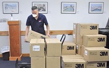 Port Donates Masks to Tenants